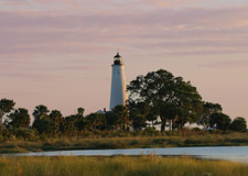 St.Marks Lighthhouse at Sunset