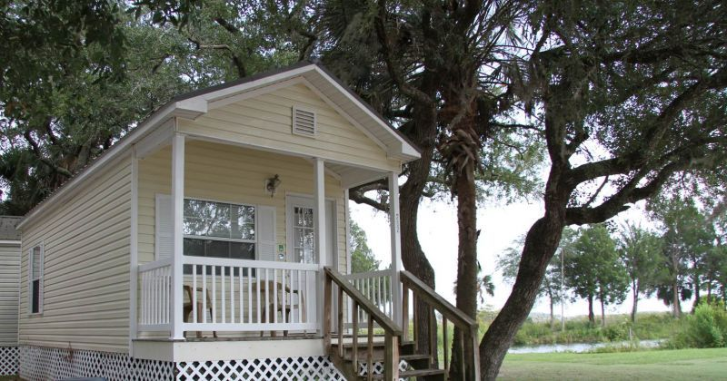 Shell Island Fish Camp and Motel in St. Marks, Florida