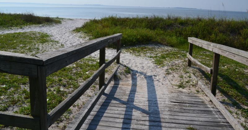 Carrabelle Beach - beach access