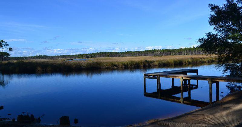 Cash Creek Recreation Area - dock