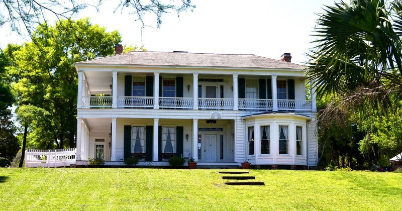 Orman House Historic State Park, Chapman Botanical Gardens, & Three Soldiers Detail - histric Orman House