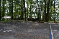 Luther Hall Landing - parking by boardwalk on Lake Talquin