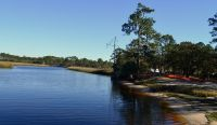Ochlockonee River State Park - beach and swimming area