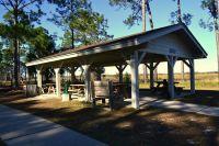 Ochlockonee River State Park - picnic pavillion by the Sopchoppy River