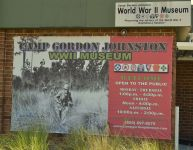 Camp Gordon Johnston - entrance sign