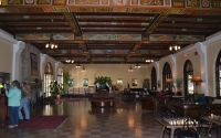 The lobby of the Edward Ball Wakulla Springs Lodge