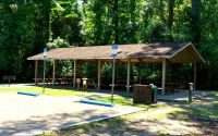 Wakulla Springs State Park picnic pavilion