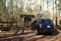 Wakulla State Forest - accessible nature drive to spring with interpretive kiosk
