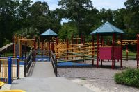 Boundless playground at Wakulla Station Trailhead, St. Marks Historic Railroad State Trail