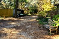 Walking path to Wildlife exhibits at Tallahassee Museum