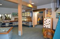 Apalachicola National Estuarine Research Reserve Visitor Center - inside the Center