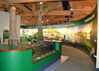 Apalachicola National Estuarine Research Reserve Visitor Center - interpretation inside Center