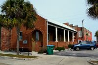 Apalachicola Riverfront Park - pubic restroom across street from waterfront park