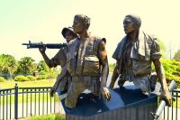 Orman House Historic State Park Complex - Three Soldiers Statue