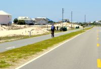 St. George Island Multiuse Trail - ride or walk on this roadside trail